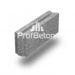 Камень перегородочный, пазогребневый, керамзитобетонный