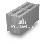 Камень пазогребневый вибропрессованный бетонный