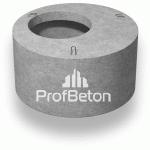 Элемент колодца кольцо с плитой перекрытия